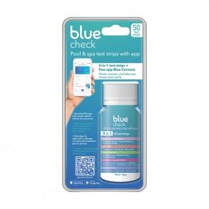 Blue Check, tiras de prova 5-em-1