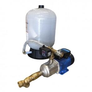 Grupo Hidropressor Automático LOWARA HM + Switchmatic2 + Autoclave Fibra 75L