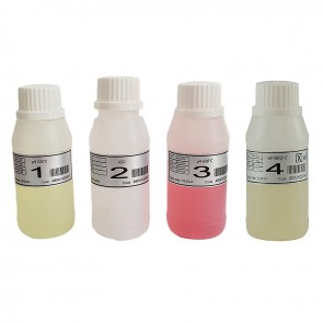 Solução Calibração pH4, pH7 e 465 mV