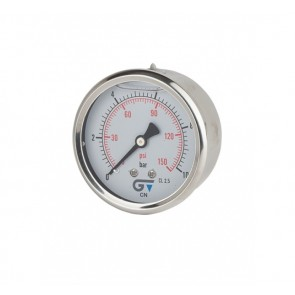 Manómetro Glicerina - saída posterior