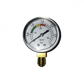 Manómetro 0-3 Kg/Cm2 para Filtro Piscina