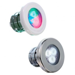 Projector LumiPlus Mini V2 LEDs Luz branca acoplamento rápido AstralPool