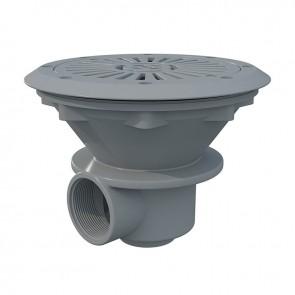 Ralo de Fundo 210mm Cinza para Liner Astralpool