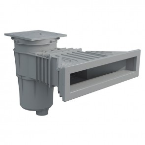 Skimmer NORM 17,5L Cinza  para Liner Astralpool