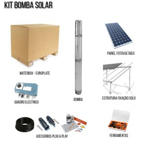 Kit Bombas Furo Solares Waterbox