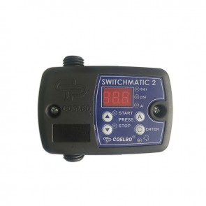 Pressostato Digital Switchmatic2 com sistema de proteção para bombas