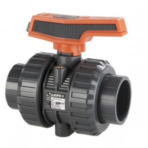 Válvula Macho Esférico PVC Colar