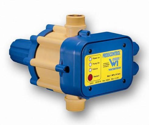 Controlo Automático Presscontrol Watertech