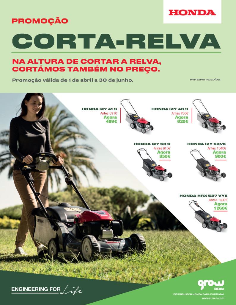 Campanha Corta Relvas Honda
