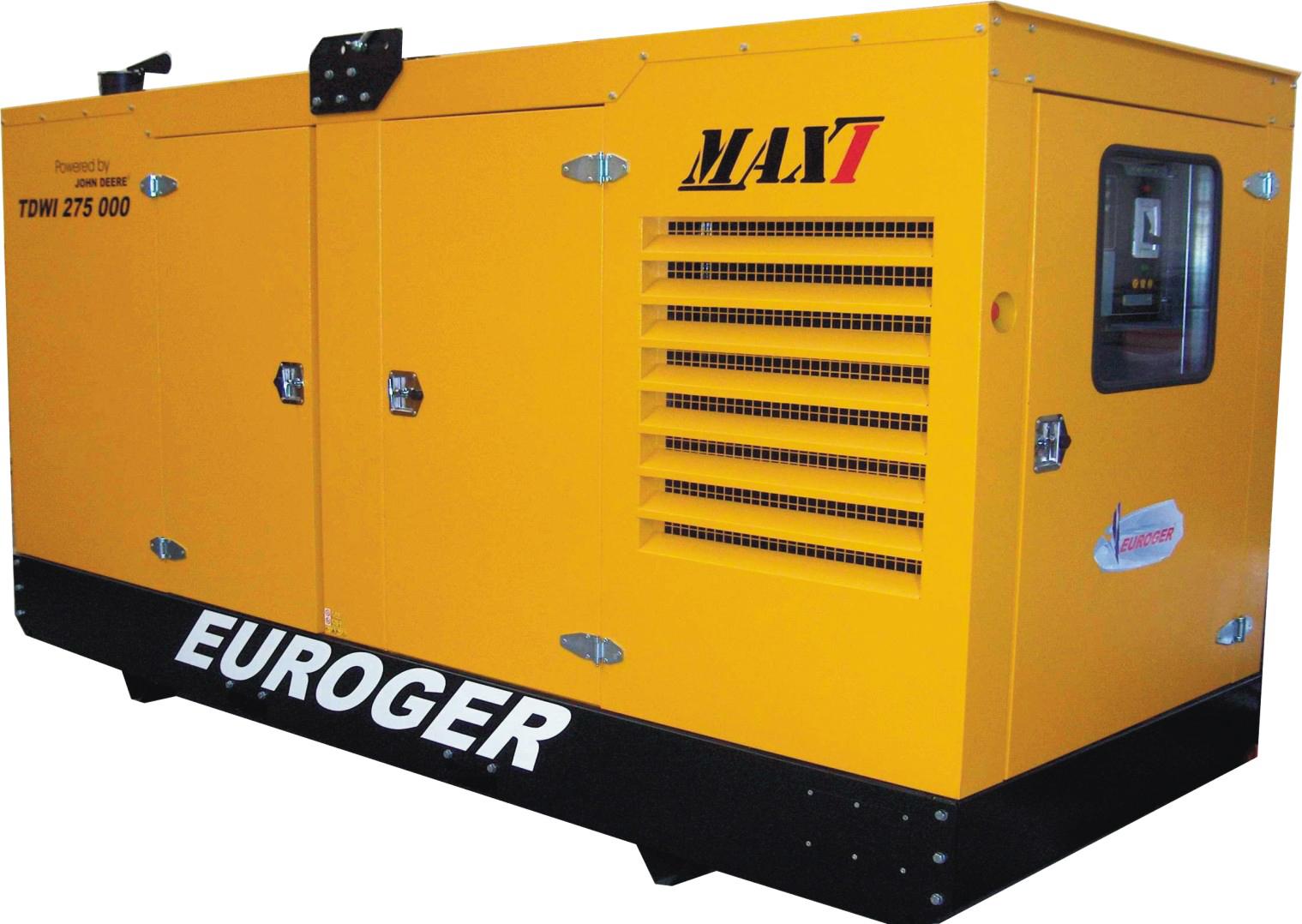 Gerador Euroger MAXI -TDWI 275 kVA