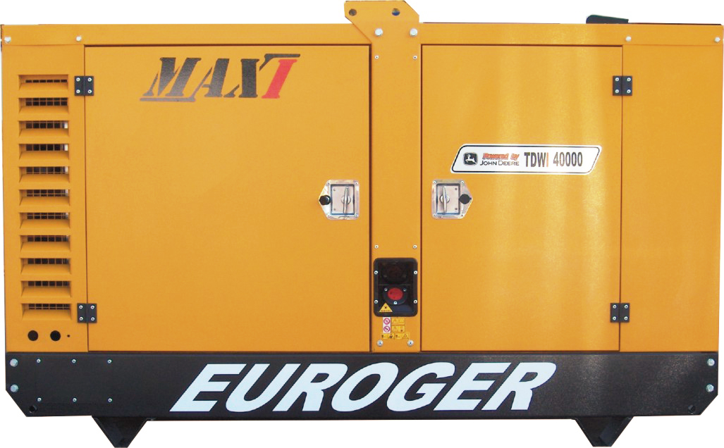 Gerador Euroger MAXI -TDWI 40 kVA