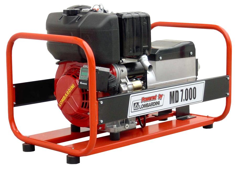 Gerador Euroger Monofasico Diesel 7 kVA