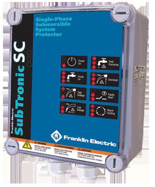 Protecção de Motores Franklin SubTronic SC