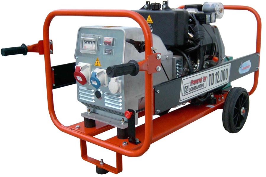 Gerador Euroger Trifásico Diesel 12 kVA