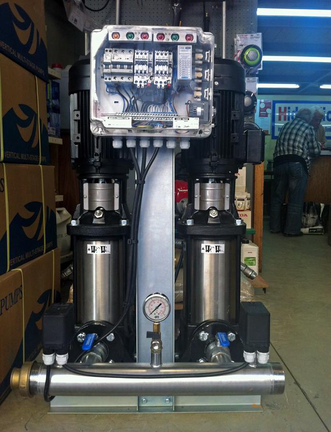 central-hidropressora
