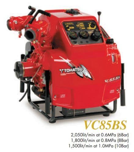 Tohatsu VC85BS (ferragem totalmente automático no arranque)